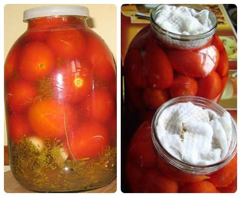 помидоры с сухой горчицей