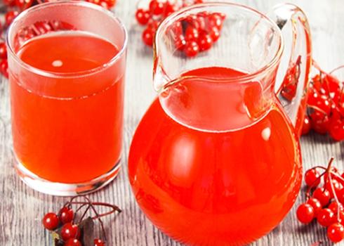 сок из калины с медом