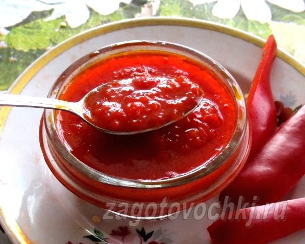Заправка для борща из болгарского перца без томата