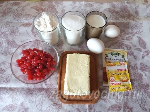 ингредиенты для приготовления кексов