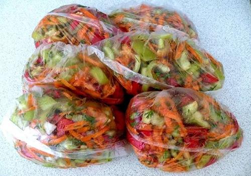 Заготовки на зиму для супов: заморозка