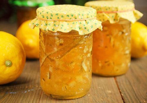 Заготовки из лимонов и апельсинов