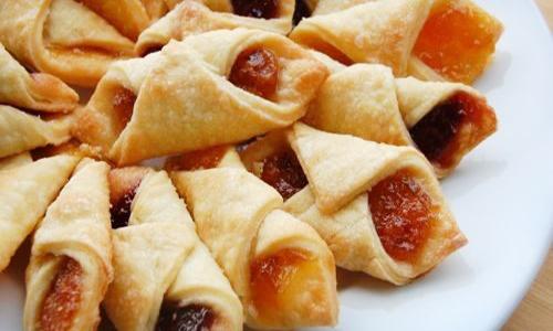 простое печенье с джемом минутка