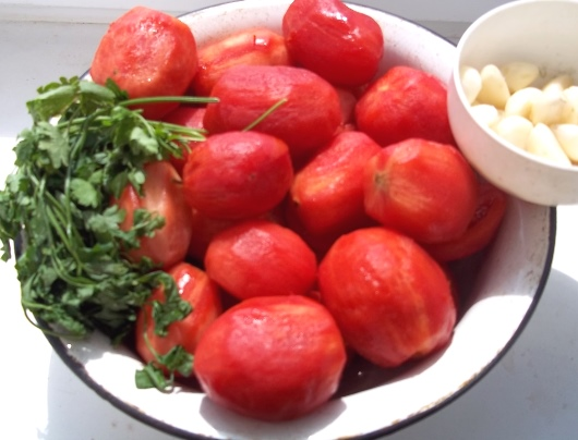 помидоры без консервации