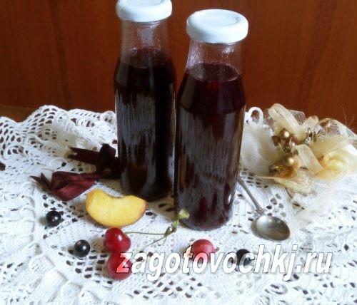Варенье ассорти из ягод и фруктов на зиму