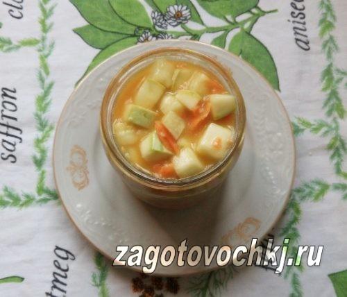 консервированные кабачки с горчицей на зиму