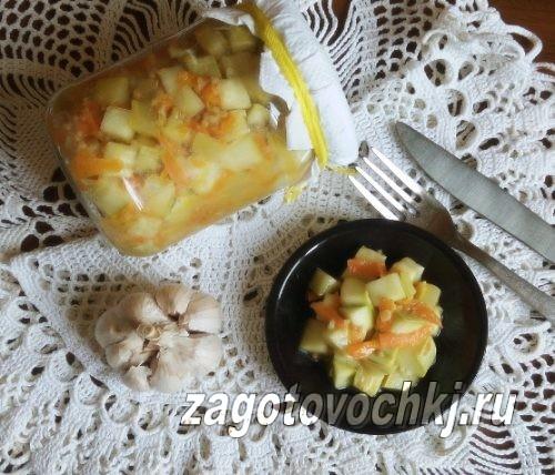 кабачки с горчицей на зиму