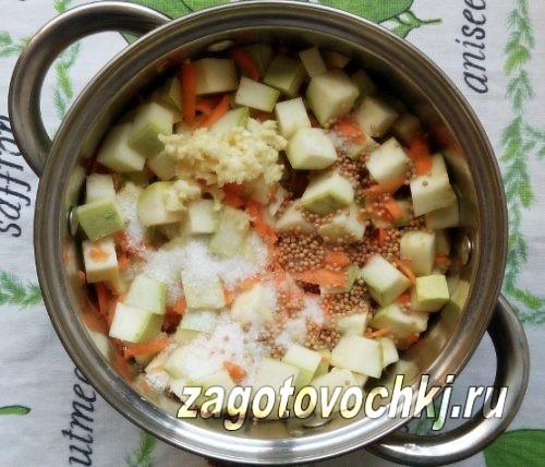 добавить специи в салат