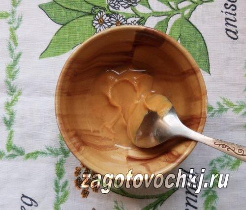развести горчицу с водой