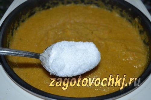 добавить соль в икру