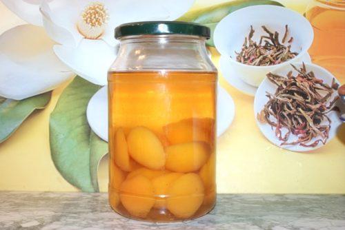абрикосовый компот на зиму в домашних условиях