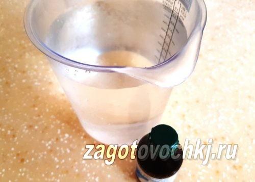вода и нашатырный спирт