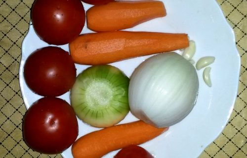 овощи для суповой заправки