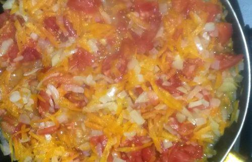 овощи поджарить на сковороде