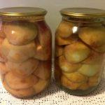 Вкусный компот из яблок на зиму