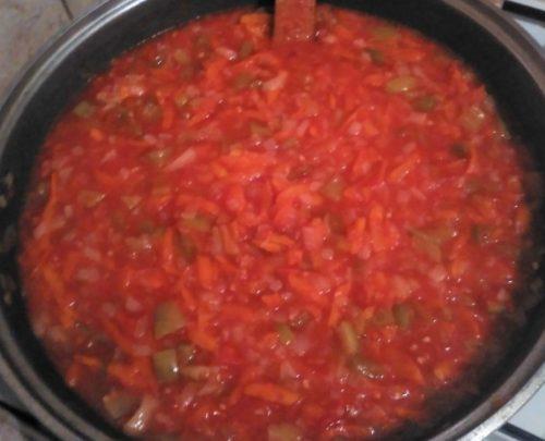 томатная заправка для салата
