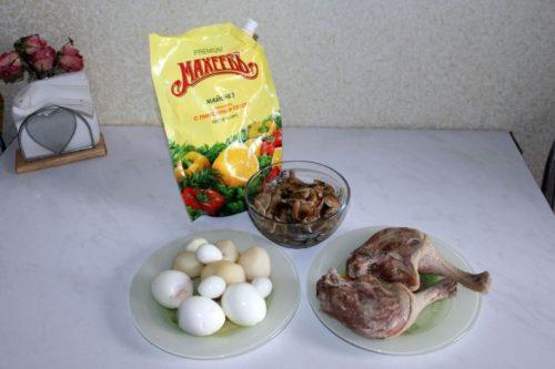 подготовить продукты для салата