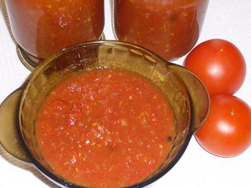 кетчуп из помидоров и яблок
