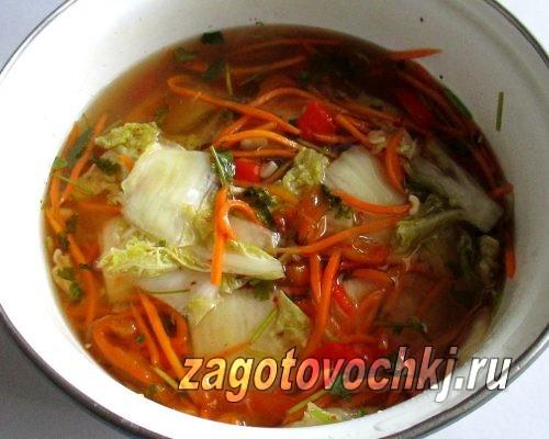 как приготовить пекинскую капусту по-пекински