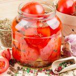 Маринованные помидоры быстрого приготовления в банке