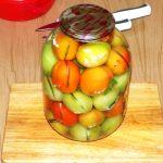Бурые помидоры с аспирином на зиму «Армянчики»