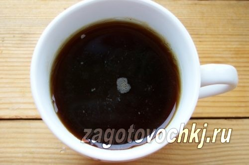 заварить крепкий чай