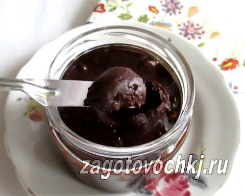 шоколадная паста в домашних условиях
