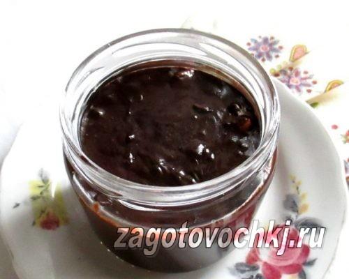 шоколадная паста, рецепт с фото