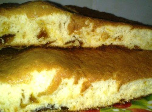 Вкусный пирог с вареньем быстрого приготовления