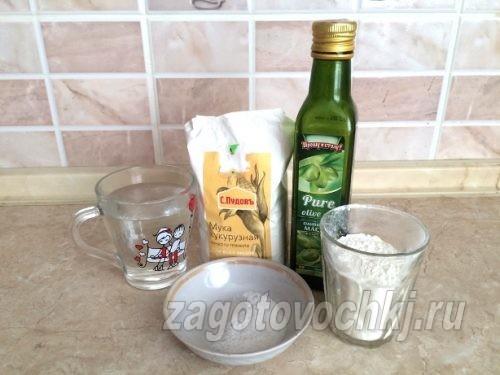 ингредиенты для приготовления лаваша