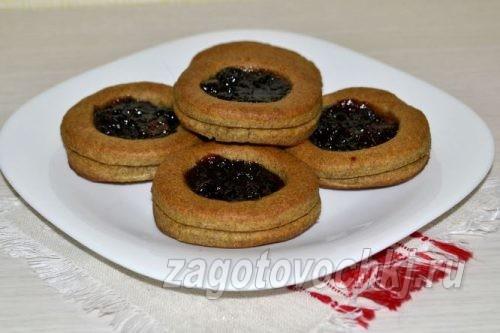 Постное печенье на рассоле, простой рецепт