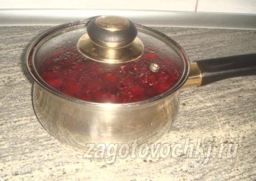 вишневое варенье, рецепт