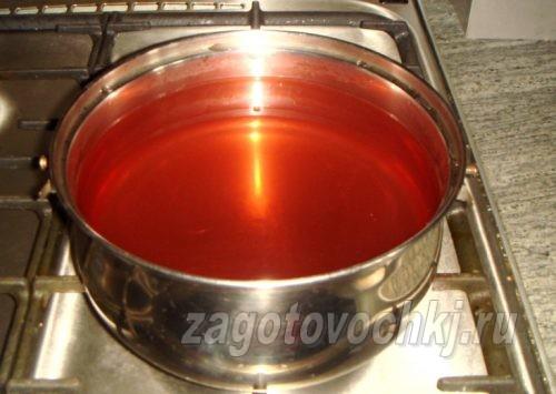 сироп для консервированных персиков