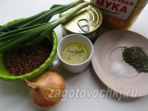 ингредиенты для запеканки из скумбрии