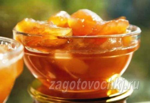 варенье из груш с цитрусами