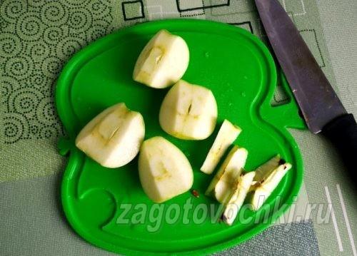 Компот из черной смородины и яблок - рецепт пошаговый с фото