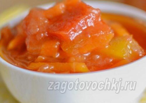 лечо из моркови