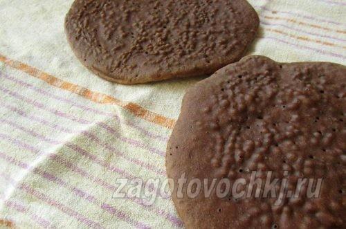 шоколадные коржи
