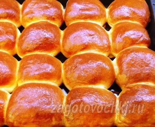 дрожжевые булочки на водке