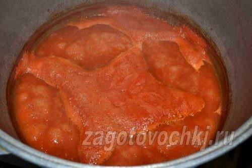 уварить томаты