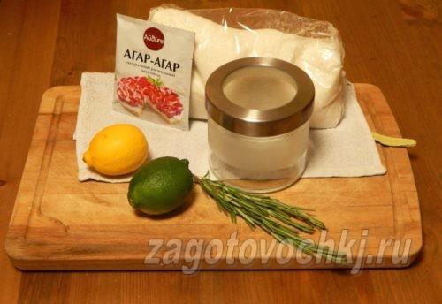 продукты для мармелада