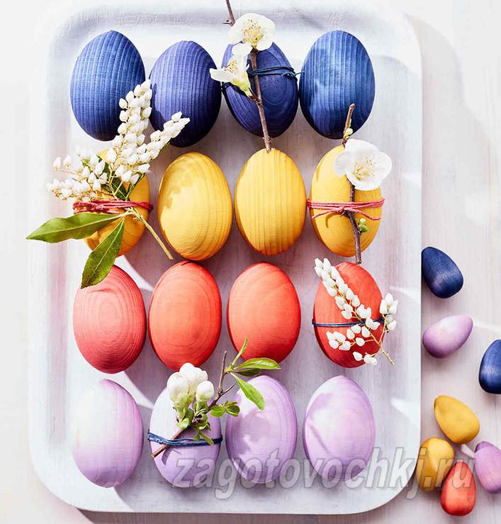 Идеи для окрашивания яиц на Пасху