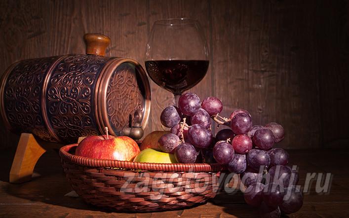 вино из яблок и виноградного сока