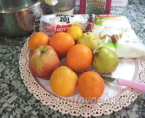 фрукты для джема