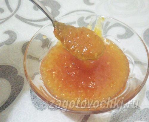 джем из апельсинов, лимона, яблок и груш
