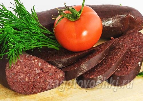 Рецепт приготовления домашних кровяных колбасок с гречей