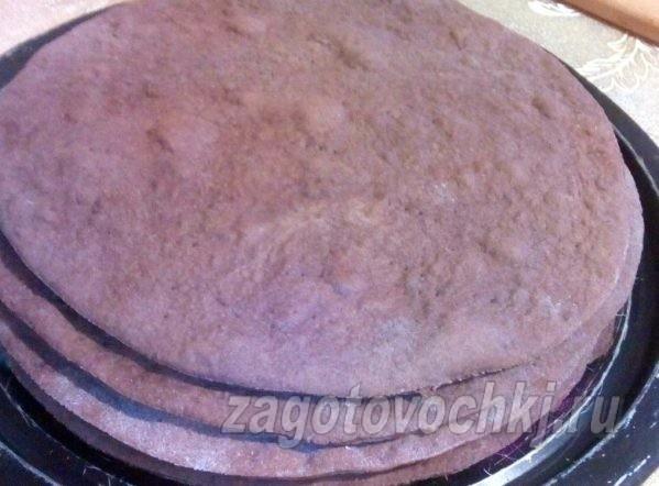 коржи для торта спартак