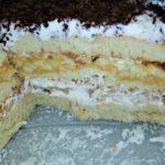 нежный торт со сгущенкой