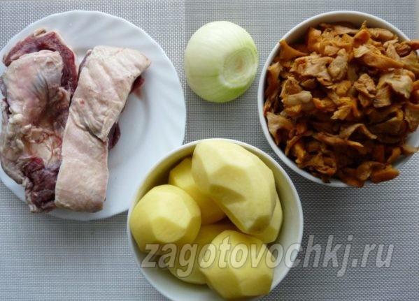 продукты для приготовления утки