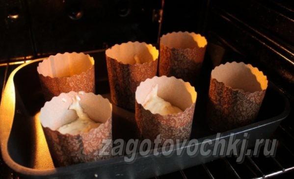 выпекание кексов